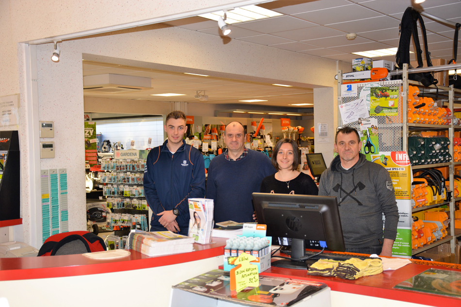 Equipe professionnel Rabot Frères