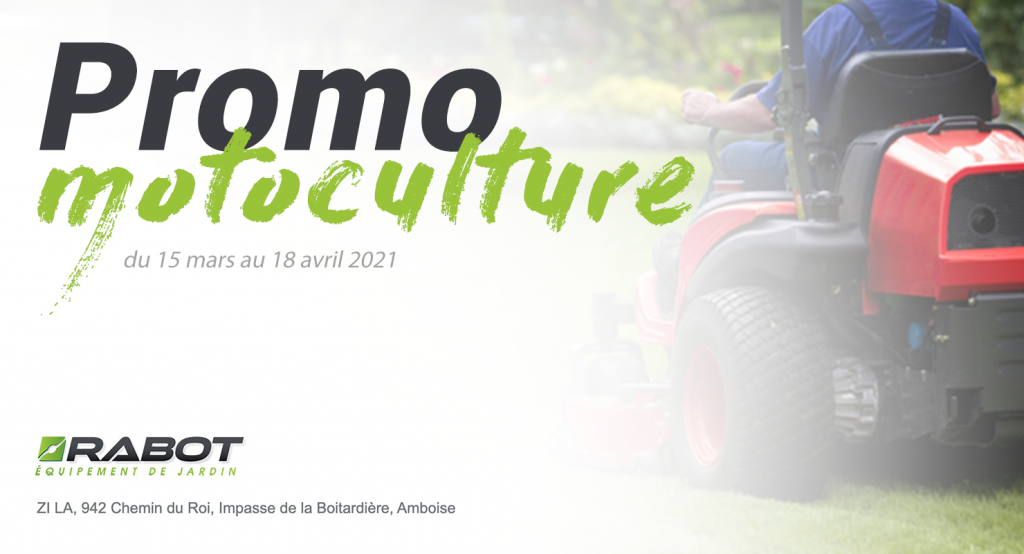 Promo Motoculture